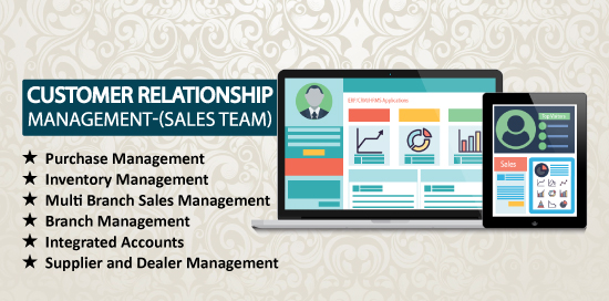 customer relationship management (sales-ERP)